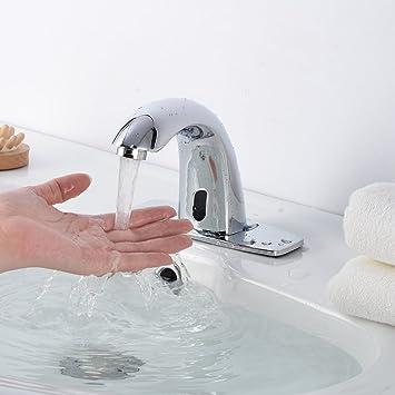 sugarhost Touchless grifo de la cocina manos libres baño buque fregadero grifo Bimando con sensor de