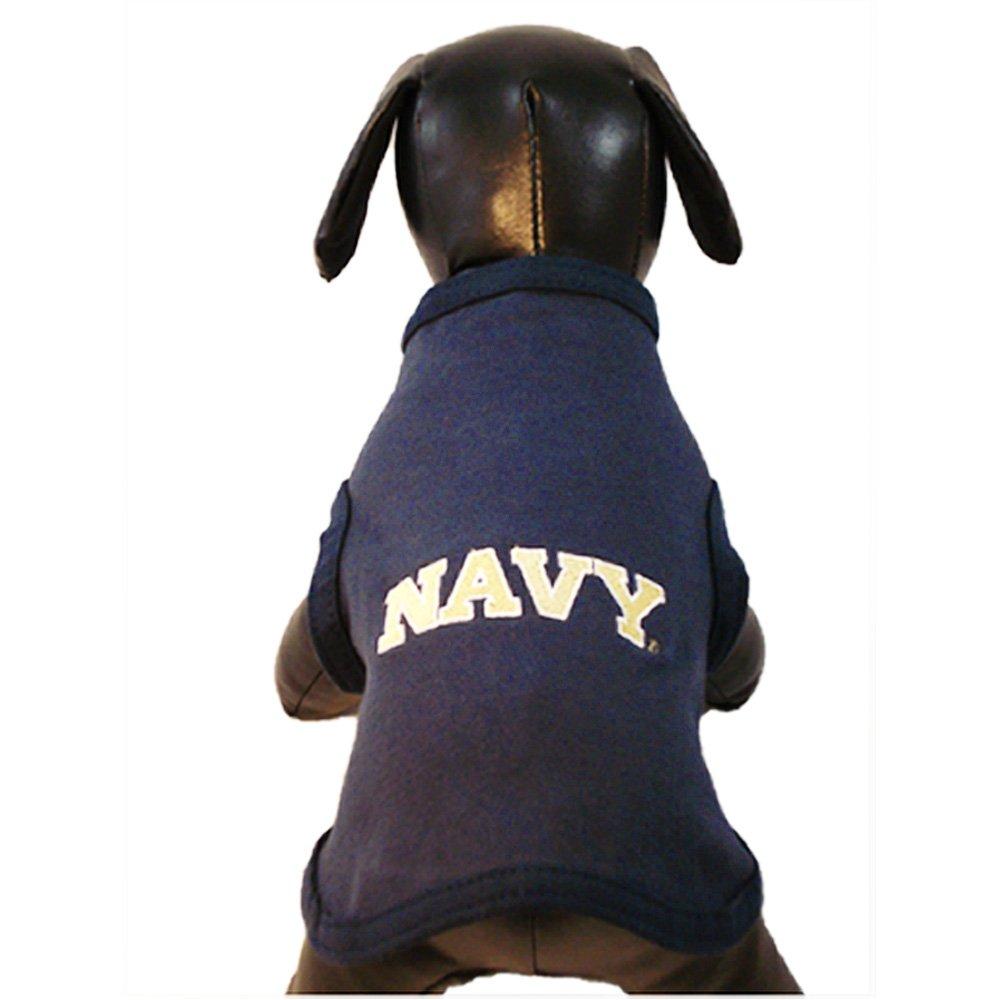 NCAA Navy Midshipmen Cotton Lycra Dog Tank Top