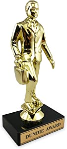 Dundie Award Trophy – The Office Merchandise – Dunder Mifflin Memorabilia Inspired by The Office