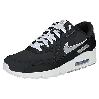 Nike Air Max 90 Essential, Chaussures de Gymnastique Homme, Noir (Anthracite/Wolf Grey-White 005), 44 EU