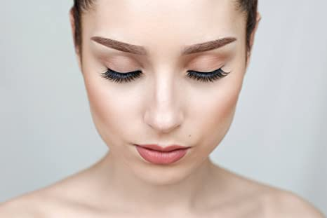 cd97c9d4746 Amazon.com : Unforgettable - Mink False Lashes | Natural Looking | Reusable  | Wispies & Flared | Best Strip Fake Eyelashes : Beauty
