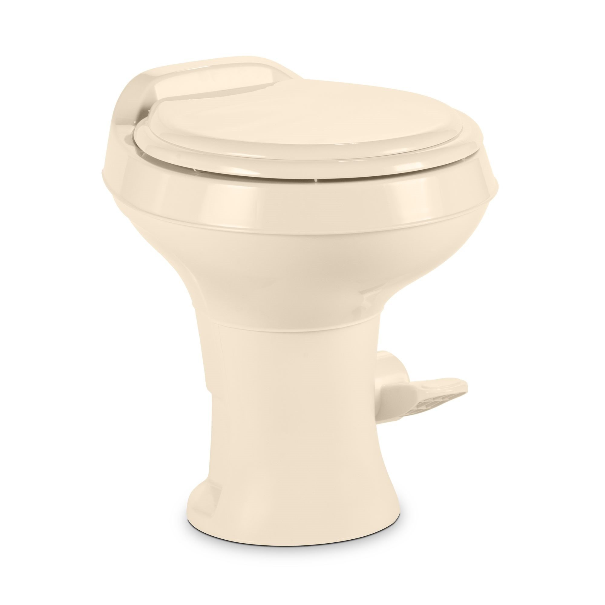 Dometic 300 Series Standard Height Toilet w/ Hand Spray, Bone
