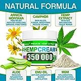 Hemp Pain Relief Cream - 350 000 Blend - Natural
