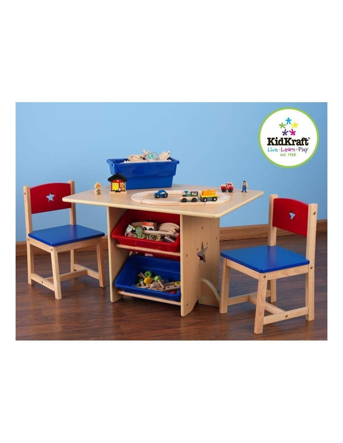 nuevo sádico DECOLOOPIO - Conjunto Conjunto Conjunto de sillas y Mesa con diseño de Estrella  precios razonables