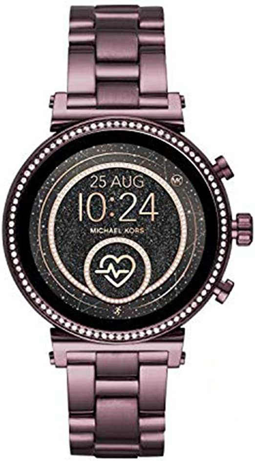 Michael Kors Access Gen 4 Sofie Smartwatch Powered with Wear OS by Google with Heart Rate, GPS, NFC, and Smartphone Notifications