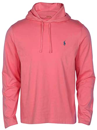 55f313771 Polo Ralph Lauren Men's Long Sleeve Pony Shirt Hoodie-Red-2XL at Amazon  Men's Clothing store: