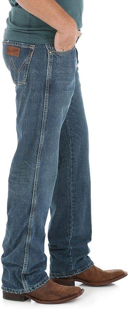Wrangler Mens Tall Retro Relaxed-Fit Straight-Leg Jean