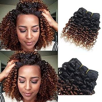 Amazon barroko sew in human hair weave ombre hair t1b33 barroko sew in human hair weave ombre hair t1b33 brazilian kinky curly virgin hair urmus Images