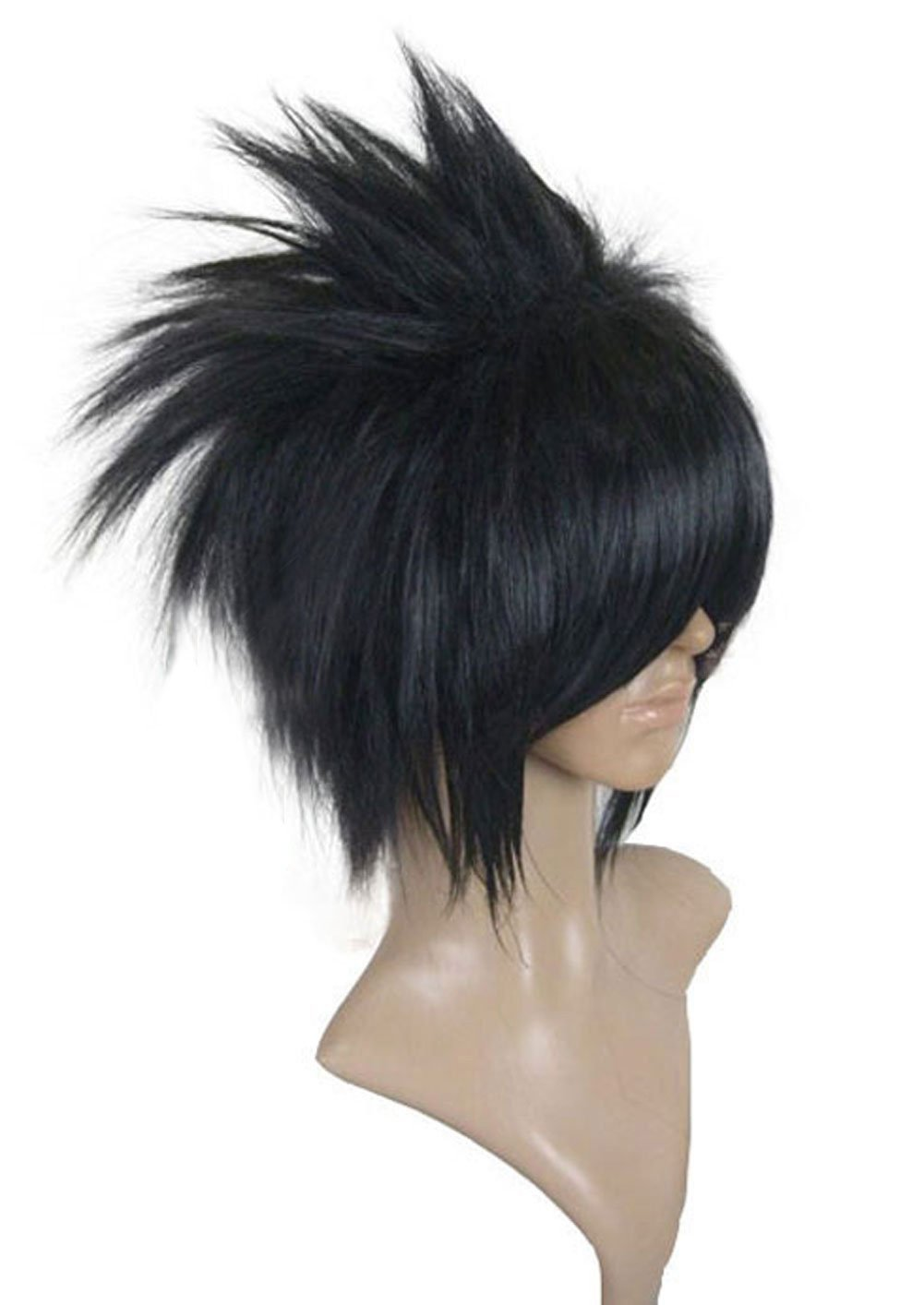 Naruto Sasuke Uchiha Free Track NO need style Anime Costume Cosplay Wig
