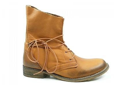 new product 83bc3 eece9 SPM Schuhe Damen Stiefeletten Schnür Boots Oklahoma 60026171
