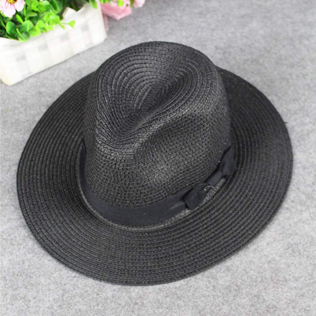 HCFKJ Sombreros para El Sol para Mujeres Hombres Sombrero De Playa ...