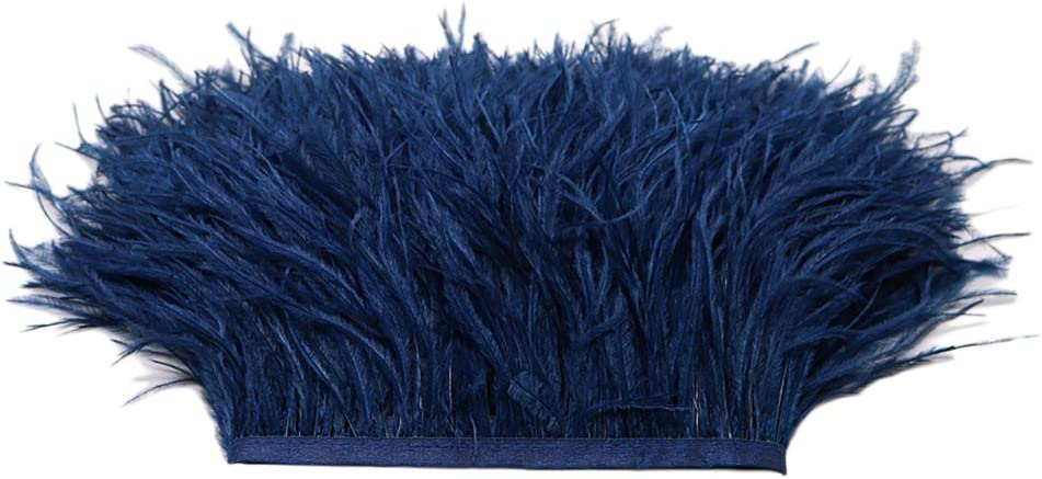 Come descritto chiwanji Molti Bordi in Frange di Piume di Struzzo A 1 Colore per Decorazioni Artigianali di Cucito Fai-da-Te Viola