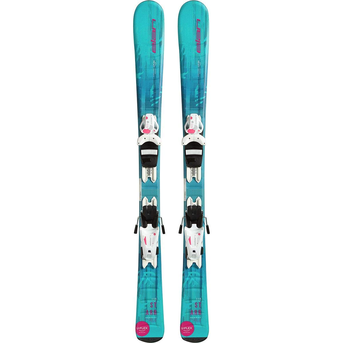 ELAN Starr Kids Skis with EL 4.5 Bindings 2019-120cm by Elan