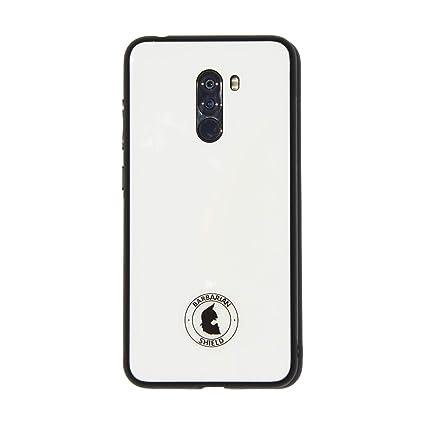 Xiaomi Funda Barbarian Shield POCOPHONE F1 Glass Case Blanca ...