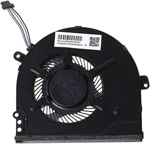 ZChun 927918-001 - Ventilador de Metal para Ordenador portátil HP ...