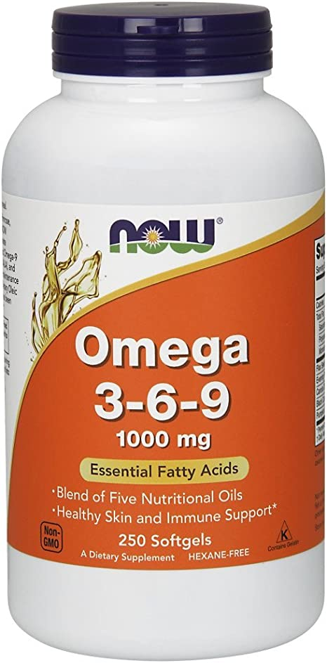 Amazon Com Now Supplements Omega 3 6 9 1000 Mg With A Blend Of
