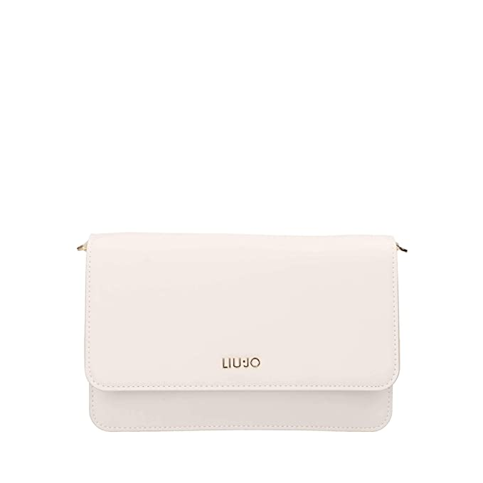low priced 6e07d e0815 Liu Jo N19167 E0040 Cross body bag Women Milk TU: Amazon.co ...