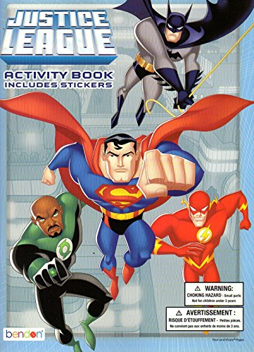 Justice League Unlimited Coloring & Activity Book (Includes