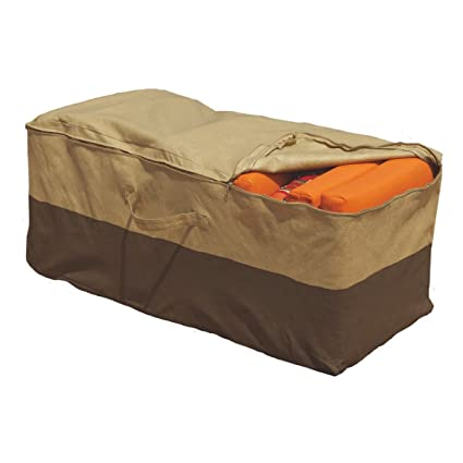 Delicieux Outdoor Cushion Storage Bag Patio Furniture Chaise Organizer Protector  Cover NEW