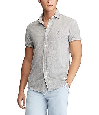 9004754b71e2c Image Unavailable. Image not available for. Color  Polo Ralph Lauren Men s  Custom Slim Fit Short Sleeve Sport Shirt ...
