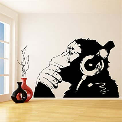 Amazon Com Wall Decal Stickers Quotes Saying And Words Diy Monkey
