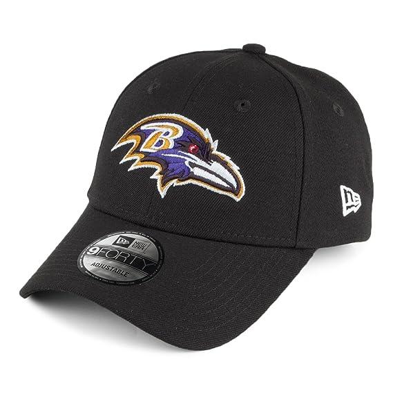 3e2ef133180ad Casquette 9FORTY The League Baltimore Ravens Noir New Era - Ajustable:  Amazon.fr: Vêtements et accessoires