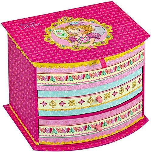 Princess Lillifee SPKNG11445 18 x 14 x 15 cm Mini cassettiera, 3 pezzi Spiegelburg