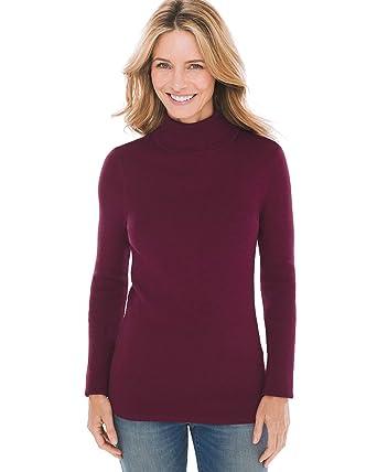 b22053828e3 Chico s Women s Coolmax Turtleneck Sweater at Amazon Women s ...