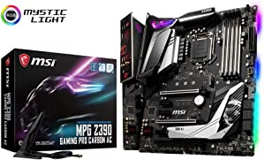 MSI MPG Intel Z390 Gaming Pro Carbon AC ATX DDR4-SDRAM Motherboard