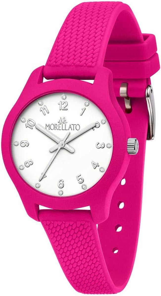 Morellato Reloj para Mujer, Colección Soft, en Poliuretano, Silicona, con Correa de Silicona - R0151163504