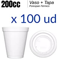 Vaso Porexpan - Vaso Porex 200cc - LOTE