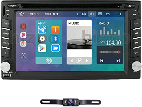 "7/"" 2Din Android 8.1 Car GPS Nav Stereo Radio Wifi 3G 4G BT DAB North America Map"