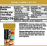 KIND Bars, Caramel Almond & Sea Salt, Gluten