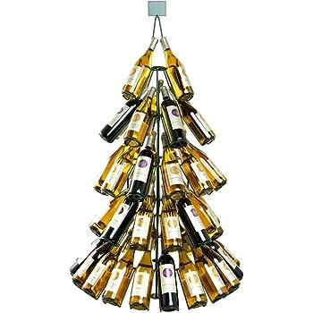"Amazon.com: 53"" Tall Wine Bottle Christmas Tree Rack ..."
