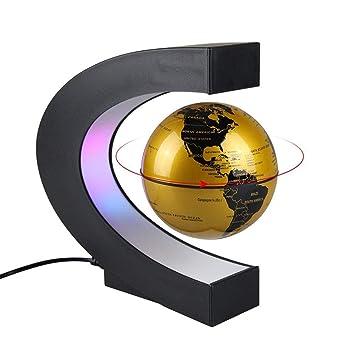 FKRLMVFC LED Magnético Globo De Levitación, 360 ° Flotante Balón ...