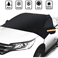 $27 » GLOUE Car Windshield Snow Cover with Side Mirror Covers, Fits for Most Vehicles, Cars Trucks Vans…