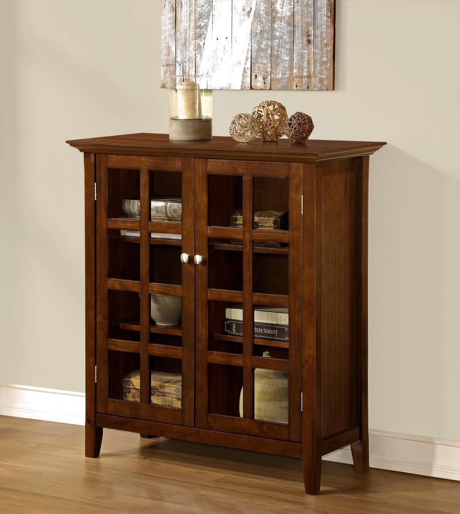 Amazon simpli home acadian medium storage cabinet