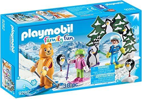 Playmobil-9282 Escuela de Esquí, única (9282): Amazon.es: Juguetes ...