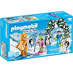PLAYMOBIL Ski Lesson Building Set