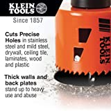 Electrician's Hole Saw Kit with Arbor 3-Piece Klein Tools 32905