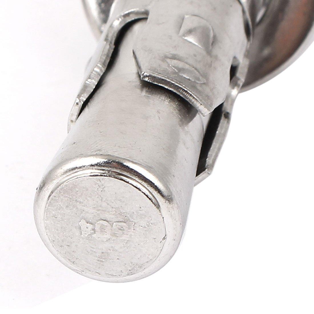 Voiture en Acier inoxydable eDealMax Réparation Gecko Extension Boulon Vis M16x100mm 2pcs