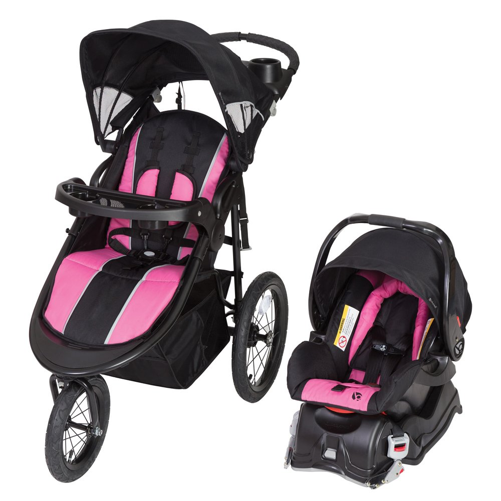 Baby Trend Cityscape Jogger Travel System, Rose TJ75B13A