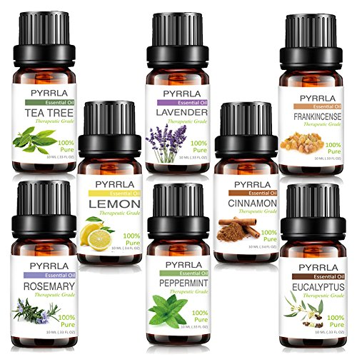Review PYRRLA Essential Oils,Top 8