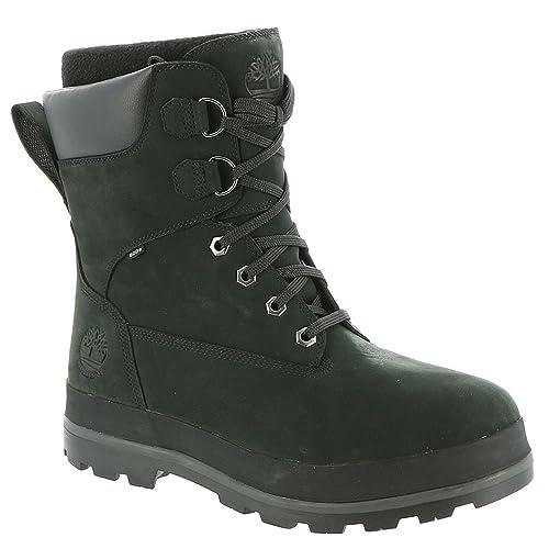 Timberland Men's Snow Drifter Waterproof Snow Boots, Black, ...