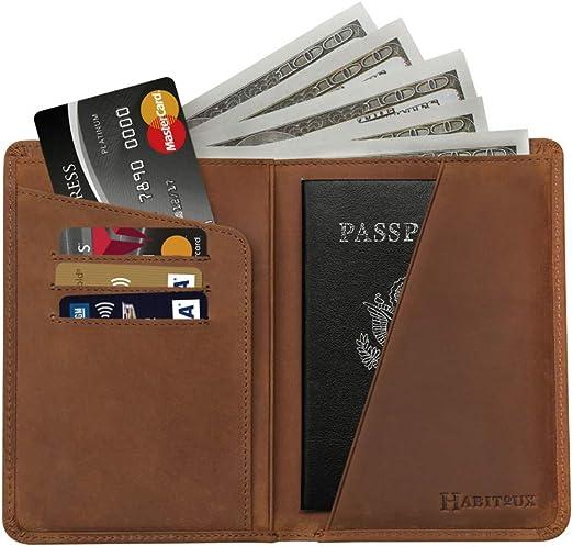 Habitoux Passport Holder Travel Wallet