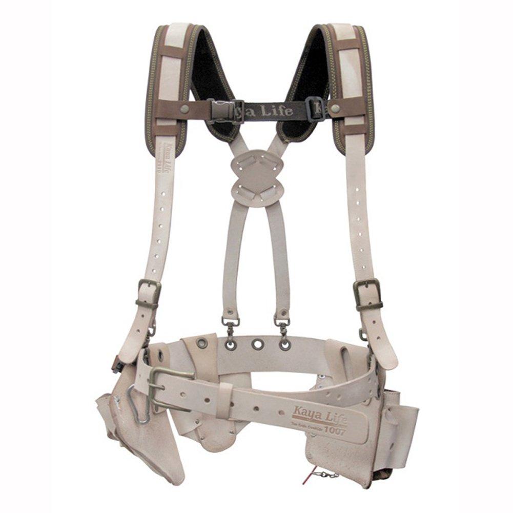 KAYA Life KL-2000 Top Grain Cowhide Multi Tool Holder Belt Suspender Set カヤライフKL-2000トップグレインカウハイドマルチツールホルダーベルトサスペンダーセット [並行輸入品] B07CWPYS4W