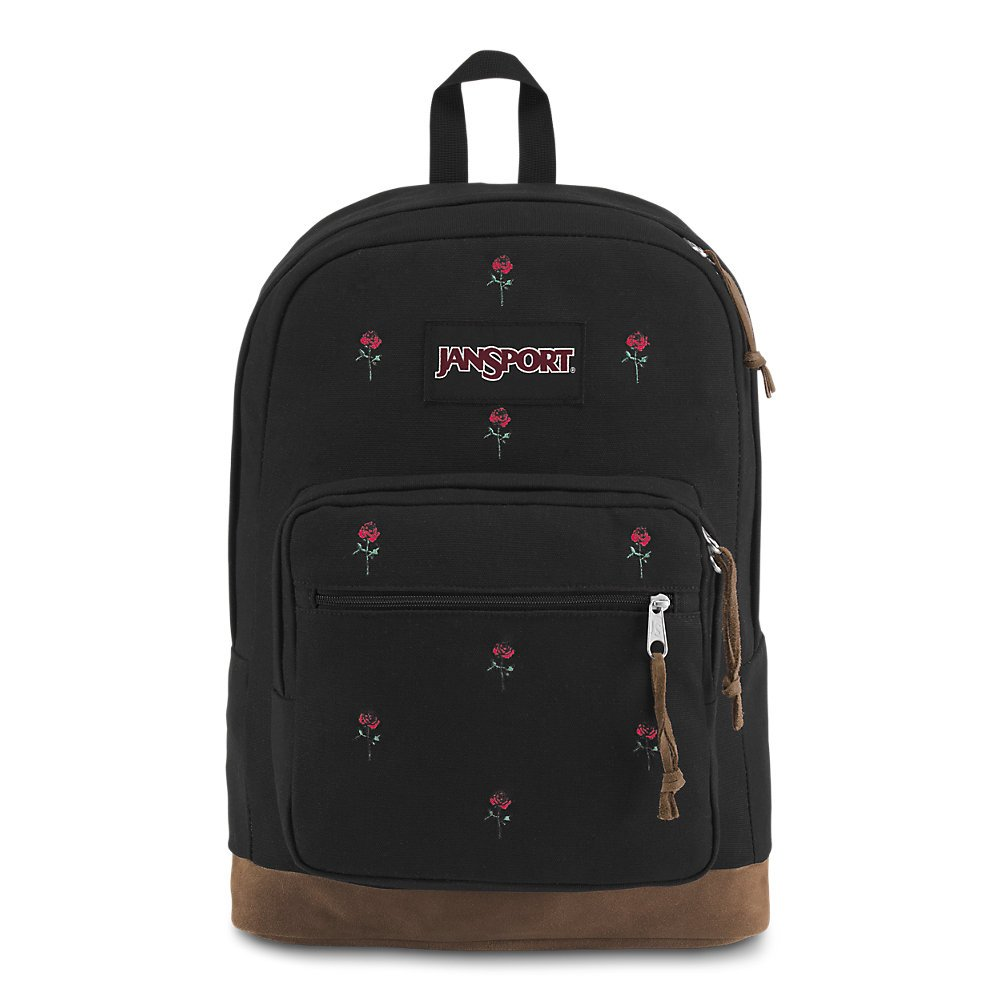 JanSport Right Pack Expressions Laptop Backpack - Embroidered Roses