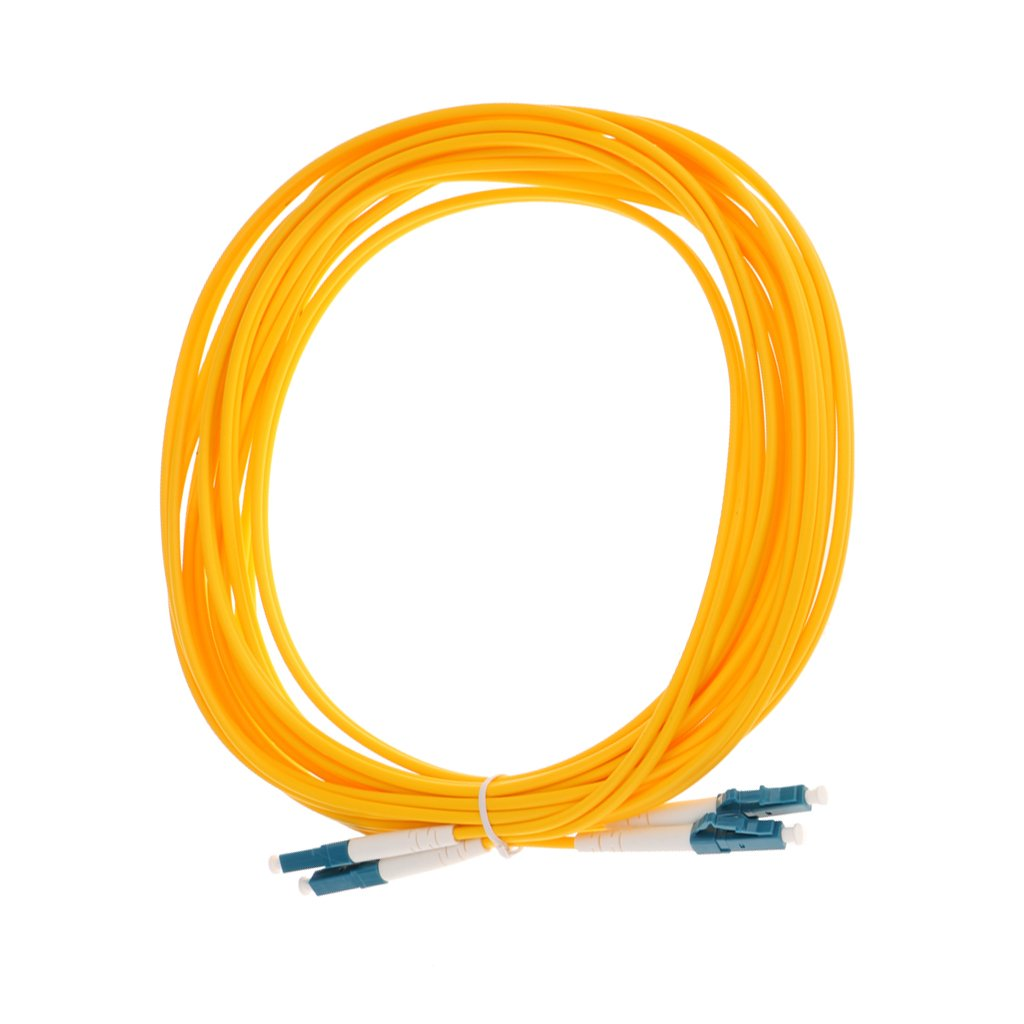 Magideal Single Mode Single-Core Fiber Patch Cable SC-SC Yellow 5 Meter