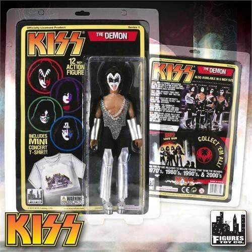 KISS 12 Inch Action Figures Alive Re-Issue Series The Demon