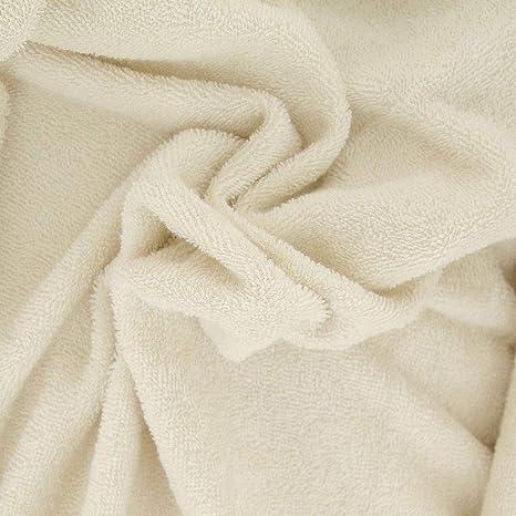 Perles & Co Tela Micro Esponja de algodón Bio Gots Doble Cara Oeko-Tex- Crudo x10cm: Amazon.es: Juguetes y juegos